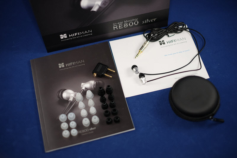 HIFIMAN RE800 SIlver Review Unboxing